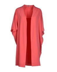 Hope Collection Full Length Jackets Coral