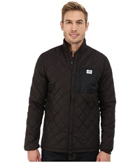Penfield Courtland Quilted Shirt Jacket Black Men's Coat