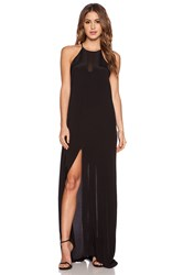 Pink Stitch Maeve Maxi Dress Black