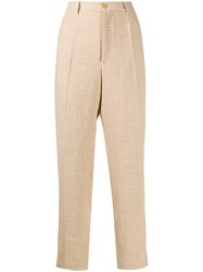 Forte Forte Check Print Trousers 60