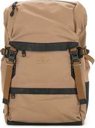 As2ov Waterproof Cordura 305D Backpack Nylon Brown