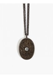 Maison Martin Margiela 11 Men's Grey Screw Pendant Necklace