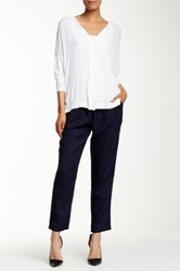Miraclebody Jeans Ivy Pleated Pull On Pant Blue