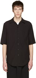 Song For The Mute Black Oversized Shirt