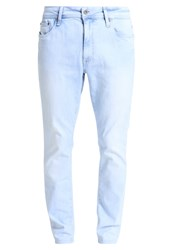 Pier One Slim Fit Jeans Light Blue Bleached Denim