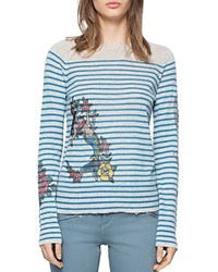 Zadig And Voltaire Miss Ter Cashmere Sweater Beige
