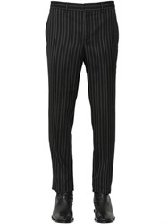 Givenchy 17Cm Pinstriped Wool Flannel Pants