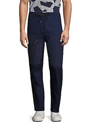 Madison Supply Solid Track Pants Peacoat