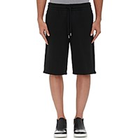 Alexander Wang T By Men's Cotton Blend Oversized Shorts Black