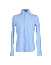 Altea Shirts Shirts Men Azure