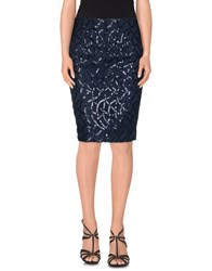 Patrizia Pepe Sera Skirts Knee Length Skirts Women Dark Blue