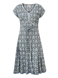 East Sureka Print Dress Grey