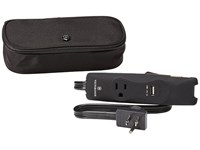 Victorinox Travel Multi Outlet Power Strip Black Black Logo Wallet