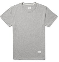 Rag And Bone Standard Issue Cotton Jersey T Shirt Gray