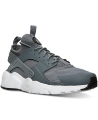 Nike Men's Air Huarache Run Ultra Running Sneakers From Finish Line Cool Grey Black White