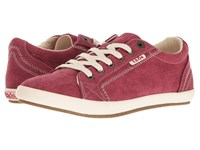 Taos Star Ruby Red Women's Lace Up Casual Shoes
