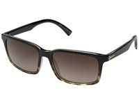 Von Zipper Pinch Black Tortoise Brown Gradient Sport Sunglasses
