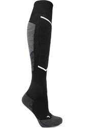Falke Ergonomic Sport System Wool Blend Ski Socks Black