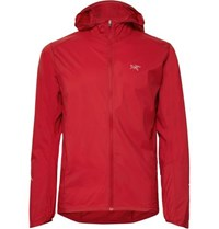 Arc'teryx Incendo Mesh Panelled Lumin Hooded Jacket Red