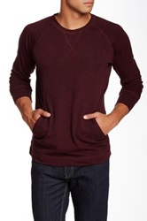 7 For All Mankind Crew Sweater Red