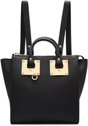 Sophie Hulme Black Small Holmes Backpack