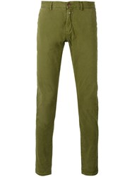 Closed Classic Trousers Green