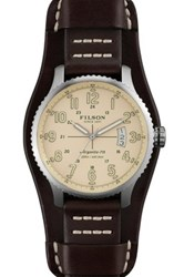 Filson Men's Mackinaw Field Quartz Watch Brown