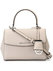 Michael Michael Kors Extra Small 'Ava' Crossbody Bag Grey