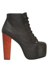 Jeffrey Campbell 120Mm Lita Leather Ankle Boots