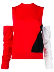 Calvin Klein 205W39nyc Cut Out Colour Block Sweater Unavailable