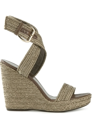 Stuart Weitzman 'Encore' Wedge Sandals