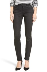 Mavi Jeans Women's Gold Adriana Coated Super Skinny