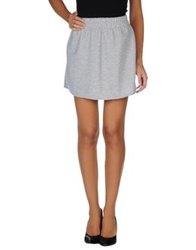 Motel Mini Skirts Light Grey