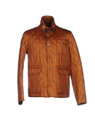 Piero Guidi Jackets Brown