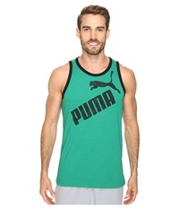 Puma 1 Tank Ultramarine Green Black Men's Sleeveless