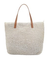 Seafolly Carried Away Beach Tote Bag White