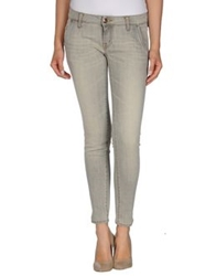 People Denim Pants Light Grey