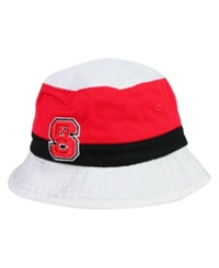 Top Of The World North Carolina State Wolfpack Scuttle Bucket Hat Red Black White