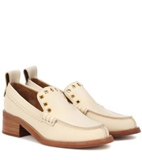 See By Chloe Leather Loafers Beige