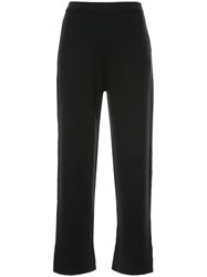 Cityshop Straight Trousers Black
