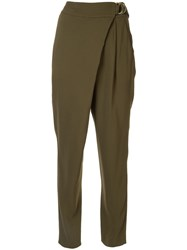 Ginger And Smart Advocate D Ring Trousers Green
