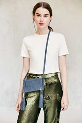 Urban Outfitters Lucca Ring Crossbody Bag Blue