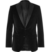 Hugo Boss Black Slim Fit Silk Trimmed Tuxedo Jacket Black