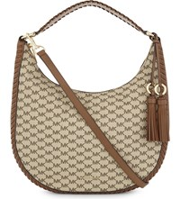 Michael Michael Kors Lauryn Large Hobo Bag Nat Lugg