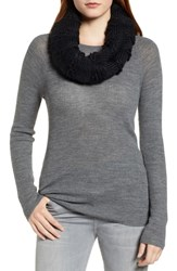 Rebecca Minkoff Chunky Neck Warmer Black
