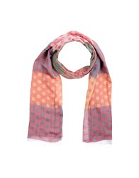 Primo Emporio Oblong Scarves Red