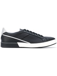Fabi Lace Up Sneakers Men Calf Leather Leather Rubber 42 Black