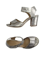 Vic Matie Vic Matie' Footwear Sandals Women Platinum