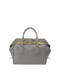 Prada Medium Soft Calf Inside Bag Mw4 Marmo