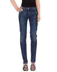 Barba Denim Denim Trousers Women Blue